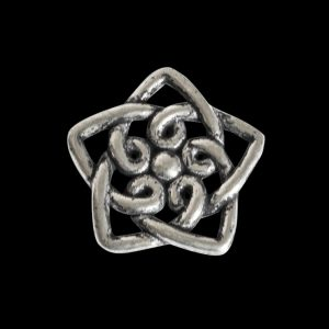 Celtic S Star Bead