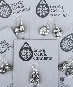 Carded Beady Earrings